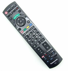 Panasonic Original Remote Control Panasonic N2QAYB000672 for TV