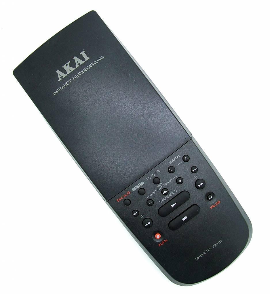 Akai Original Akai remote control RC-V251G