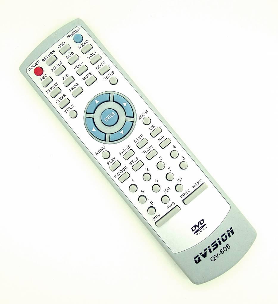 Original Qvision remote control QV-606 DVD Player