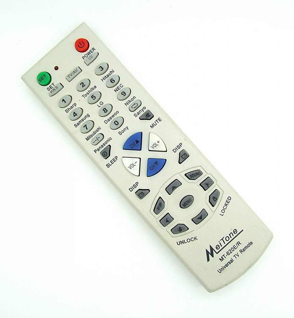 Original MeiTone Fernbedienung MT-620E/R Universal TV remote