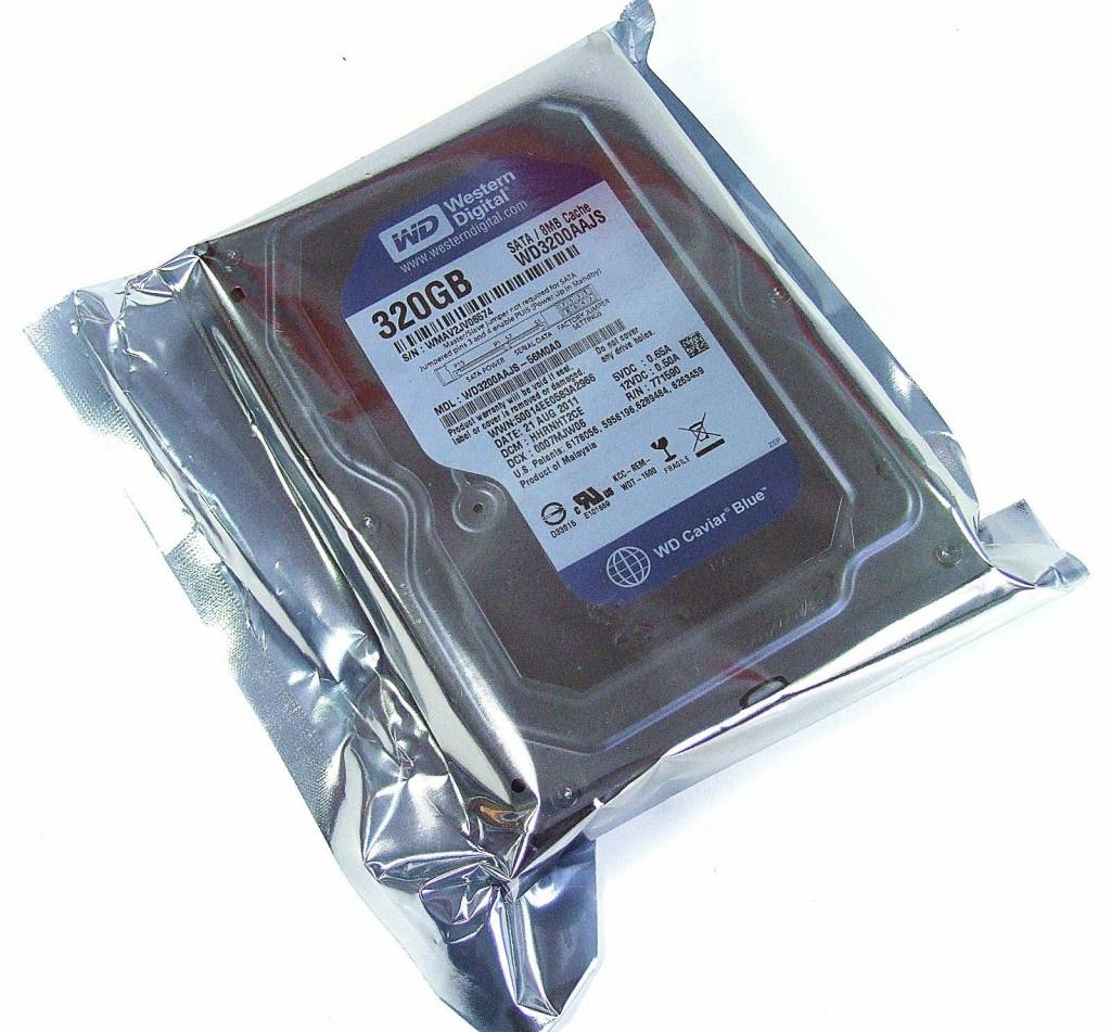 Original Wester Digital WD3200AAJS 320GB Festplatte Sata 3,5 WD3200AAJS-56M0A0