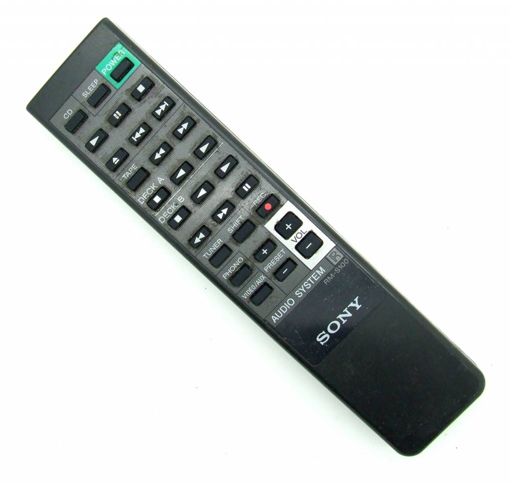 Sony Original Sony Fernbedienung RM-S100 Audio System