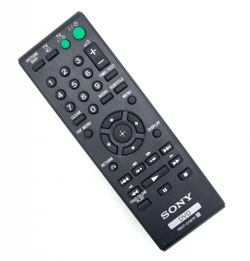 Sony Original Fernbedienung Sony RMT-D187P für DVP-SR90 DVP-SR600 DVP-PR30
