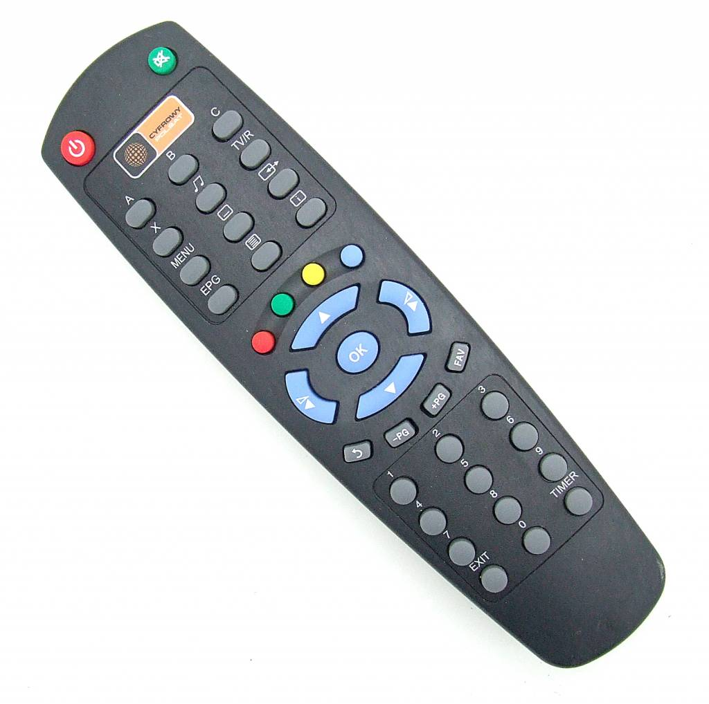 Cyfrowy Polsat Original Cyfrowy Polsat Fernbedienung RC01-1035 Pilot für HD5000 / F300