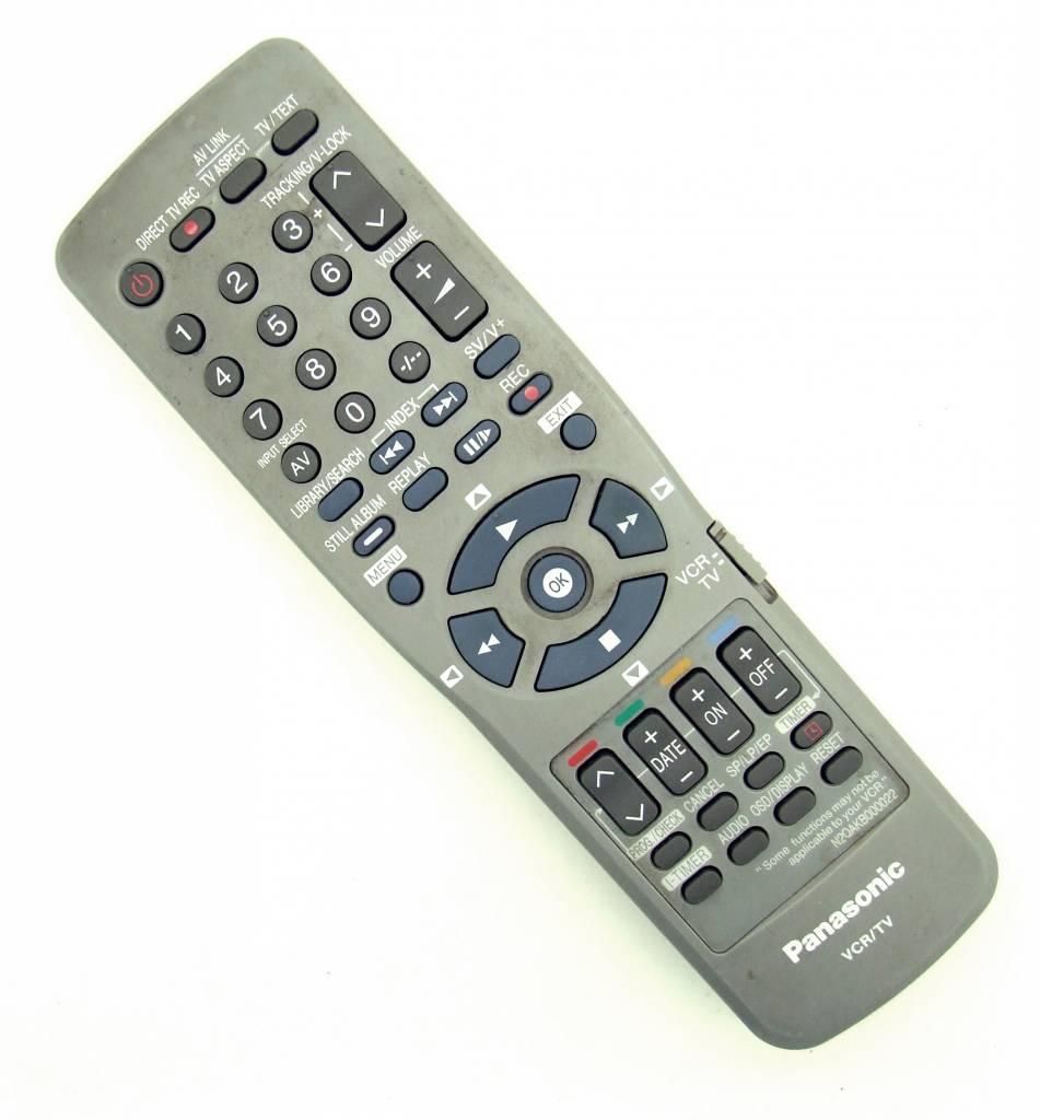 Panasonic Original Fernbedienung Panasonic N2QAKB000022 VCR / TV