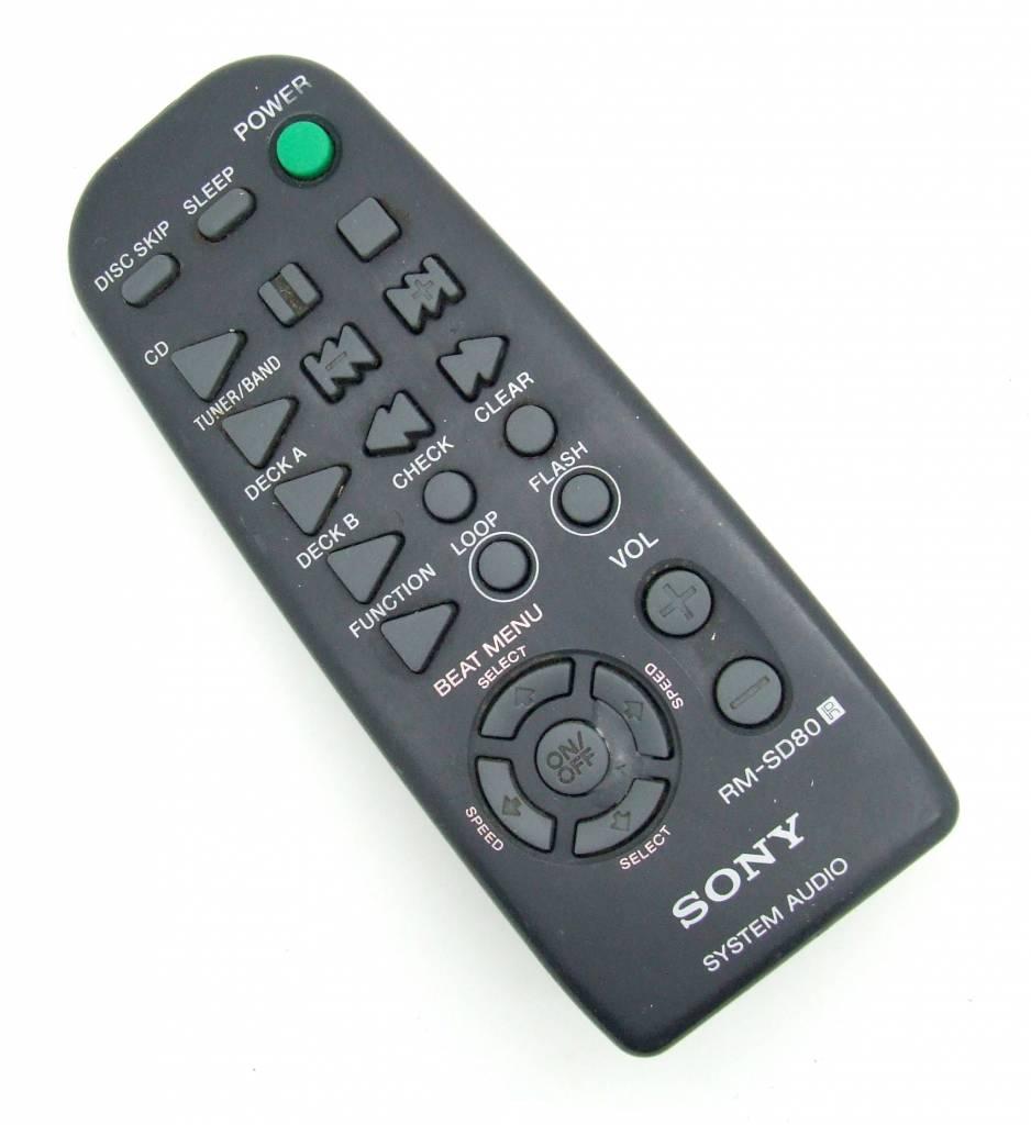 Sony Original Fernbedienung Sony RM-SD80 System Audio