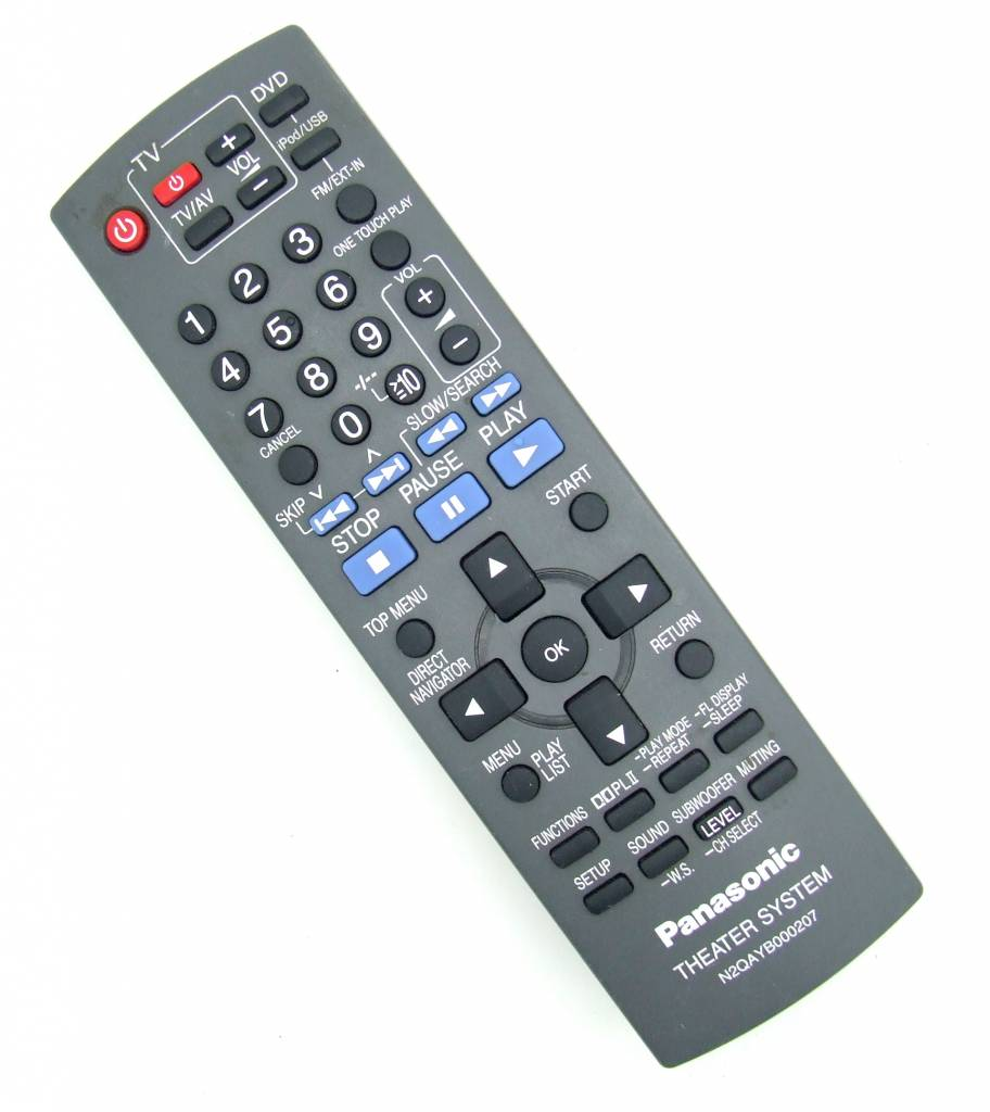 Panasonic Original Panasonic remote control N2QAYB000207 Theater System