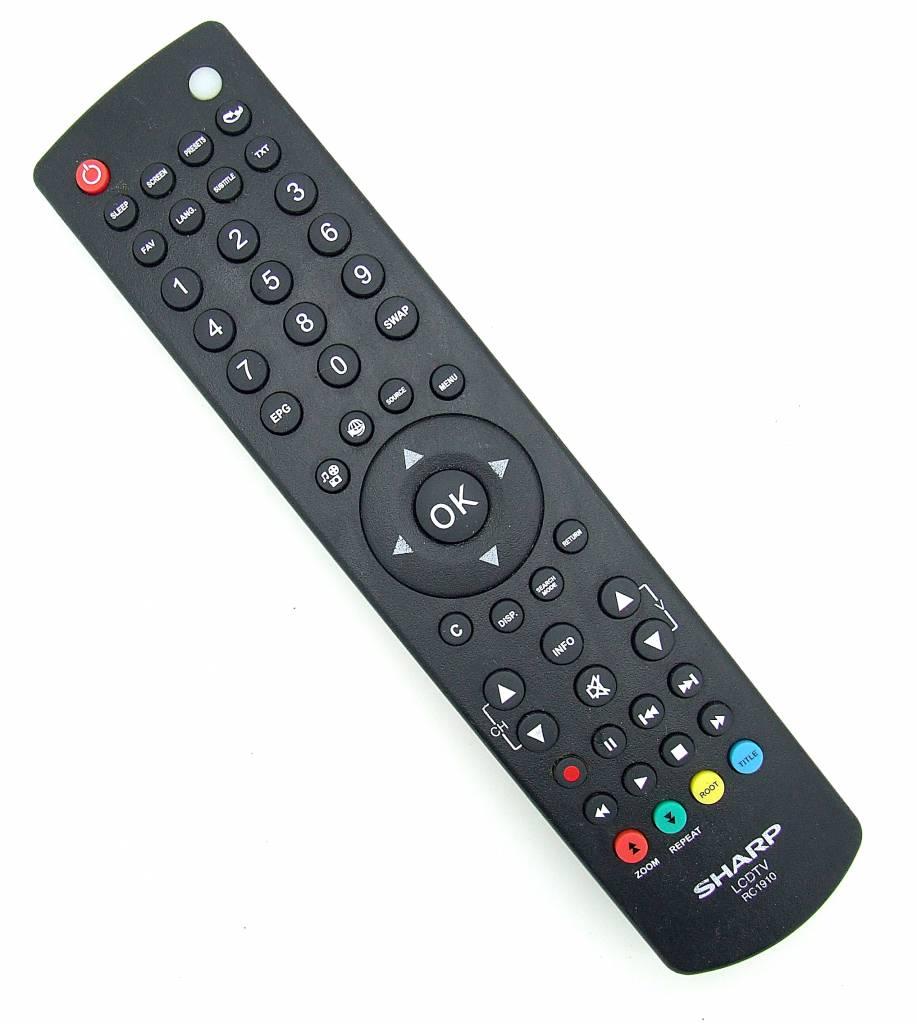 Sharp Original remote control Sharp RC1910 LCD TV