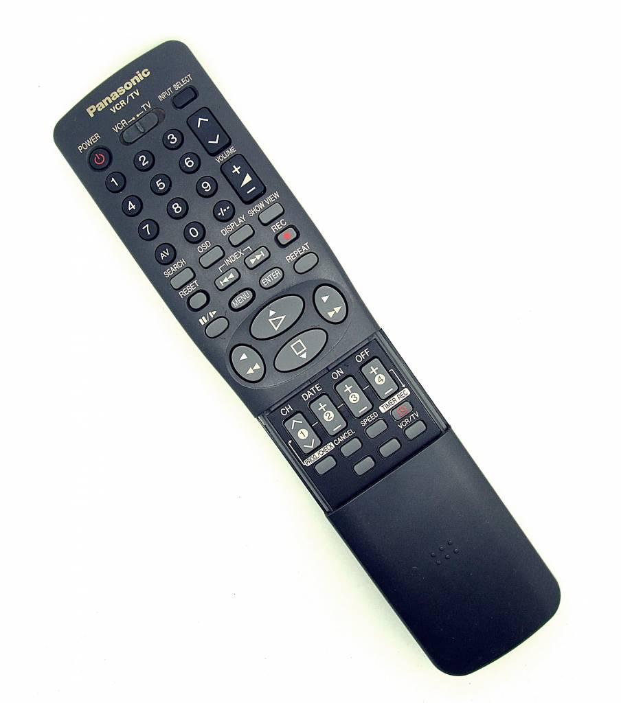Panasonic Original Panasonic Fernbedienung VCR/TV remote control