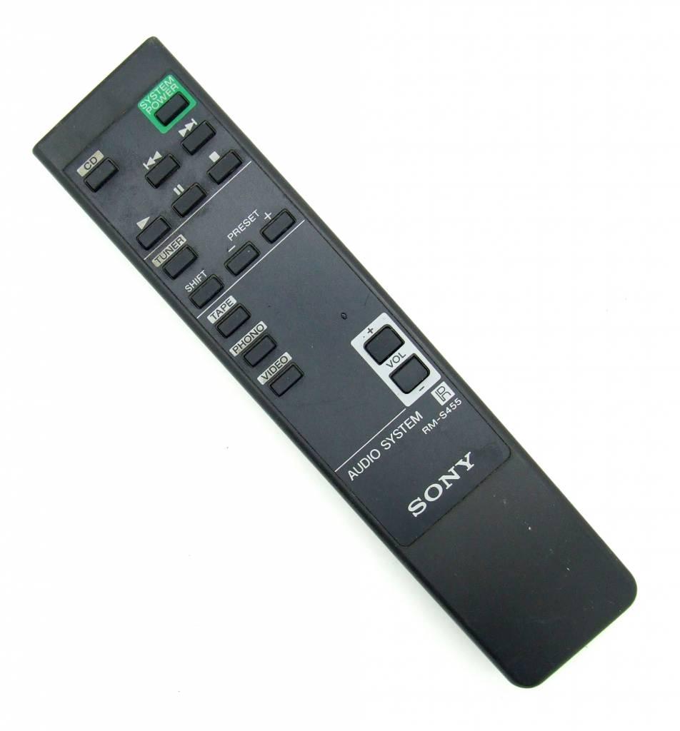 Sony Original Sony Fernbedienung RM-S455 für HCD-H450M Audio System