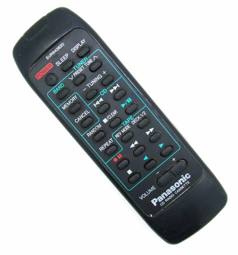 Panasonic Original Panasonic remote control EUR643820