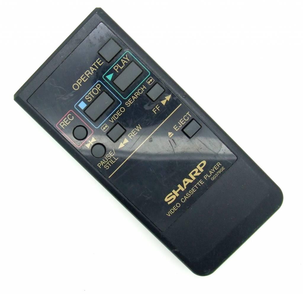 Sharp Original Sharp Fernbedienung Pilot G0379GE Video Cassette Player