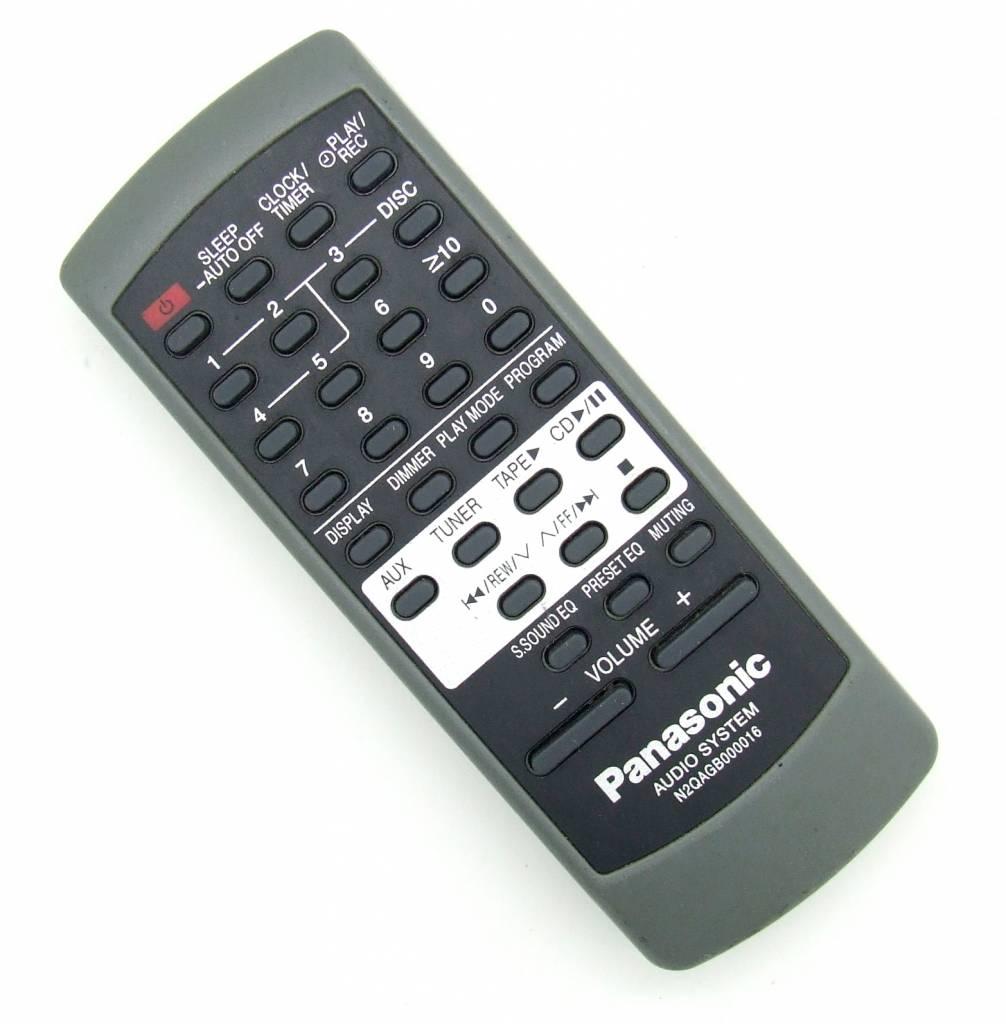 Panasonic Original Panasonic Fernbedienung N2QAGB000016 für SAAK100 SAAK100P SCAK100