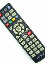Original remote control for Wiwa HD-80 TV DVB-T Tuner Pilot