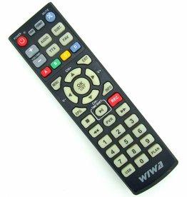 Original Fernbedienung für Wiwa HD-80 TV DVB-T Tuner Pilot