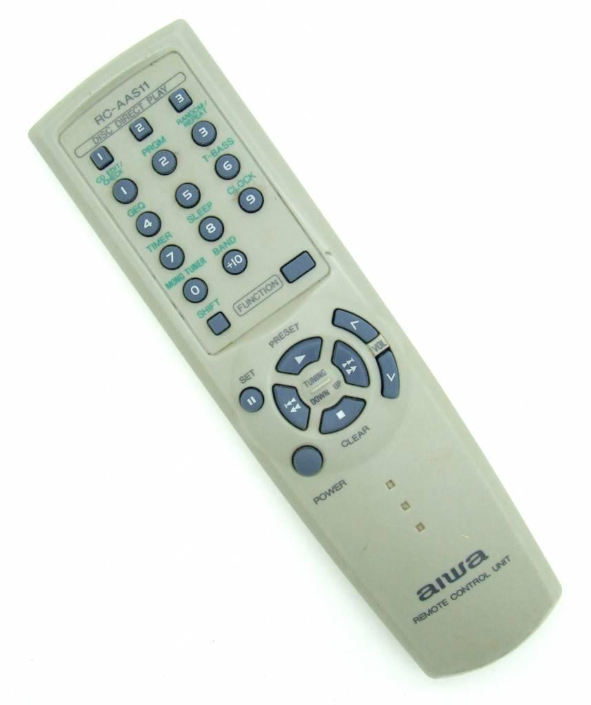 Aiwa Original remote Aiwa RC-AAS11 Remote Control Unit