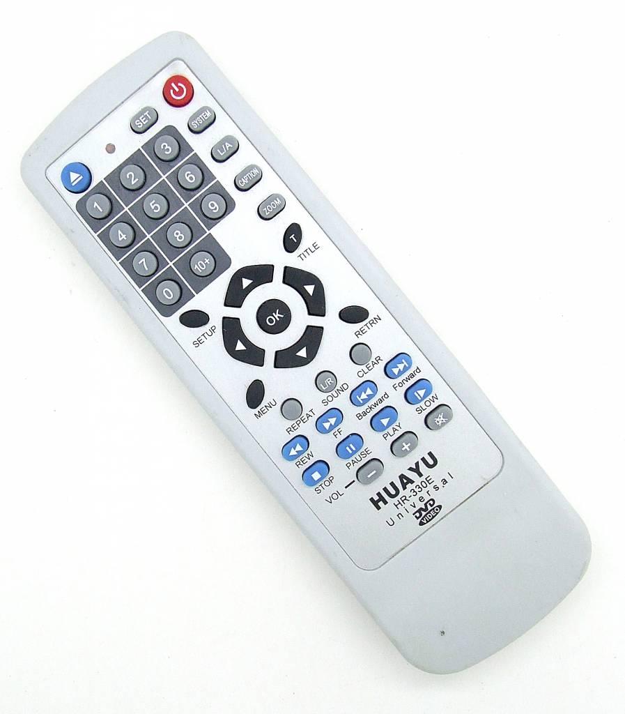 Original Fernbedienung Huayu HR-330E DVD Video Universal