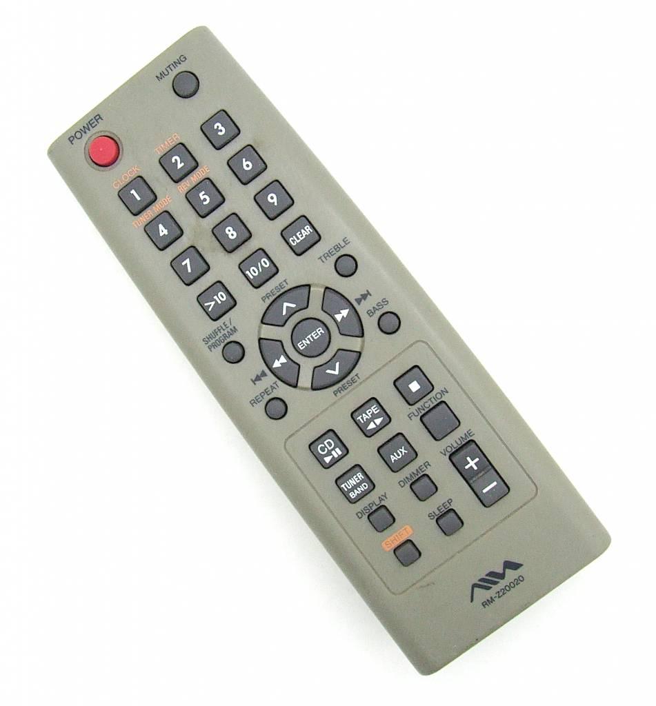 Aiwa Original remote control Aiwa RM-Z20020 Audio System