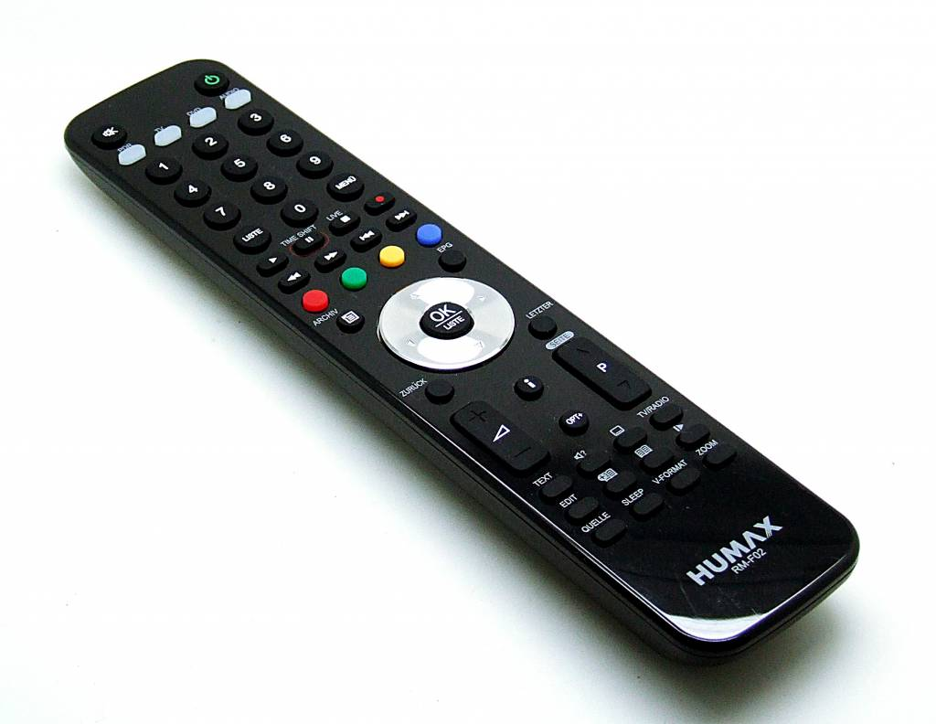 Humax Original Humax remote control RM-F02 for PDR iCord SAT