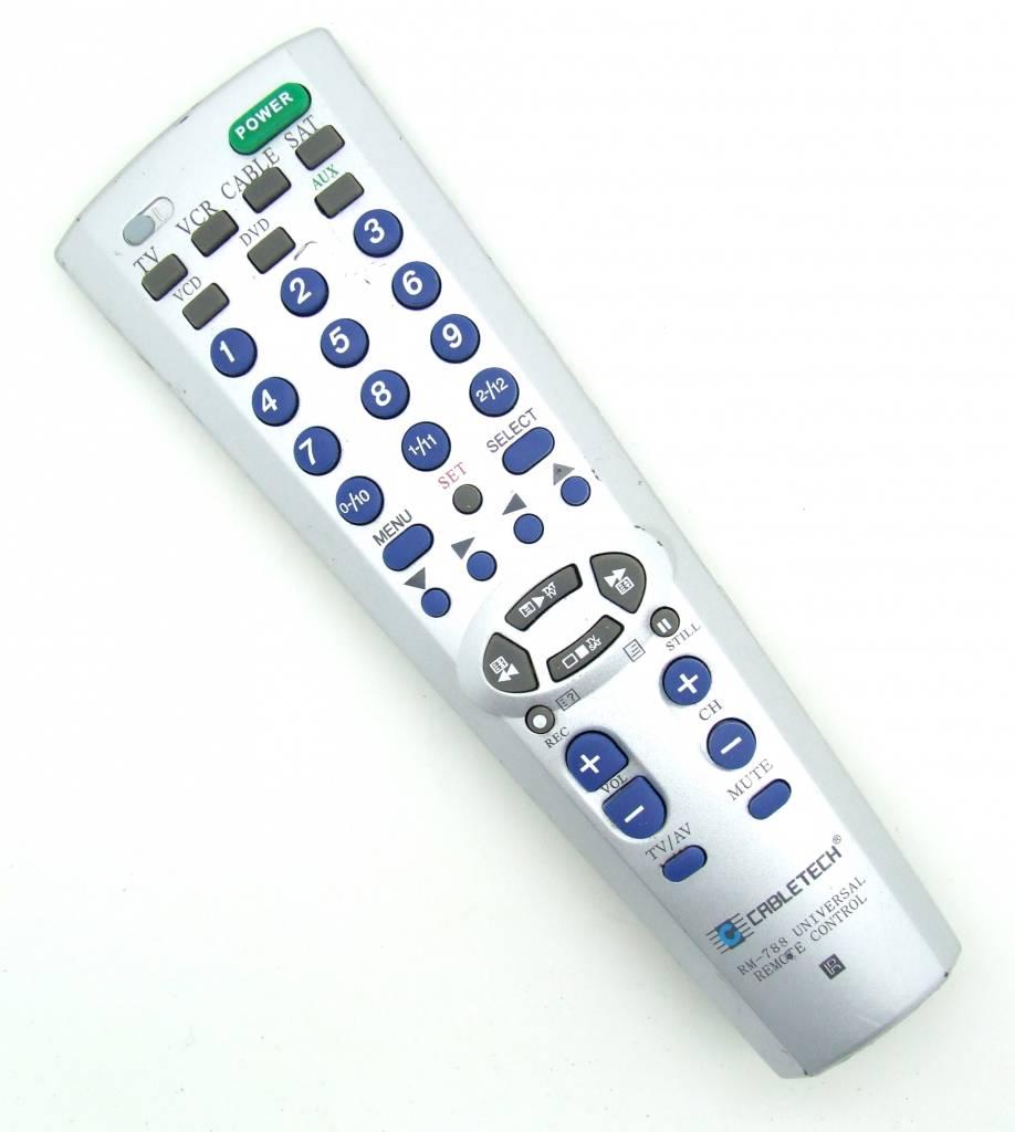 Cabletech Original remote control Cabletech RM-788 Universal