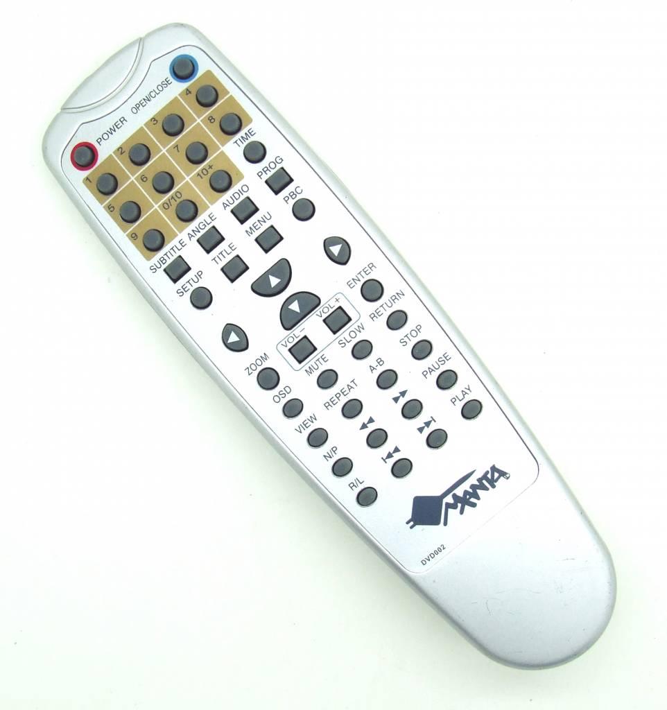 Manta Original remote control Manta DVD002 Pilot DVD 002