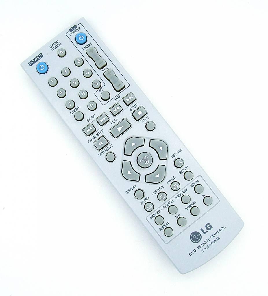 LG Original LG Fernbedienung 6711R1P089A DVD remote control