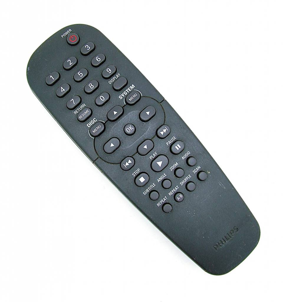 Philips Original Philips remote control 313922887051 RC19133001/01 for DVD Player