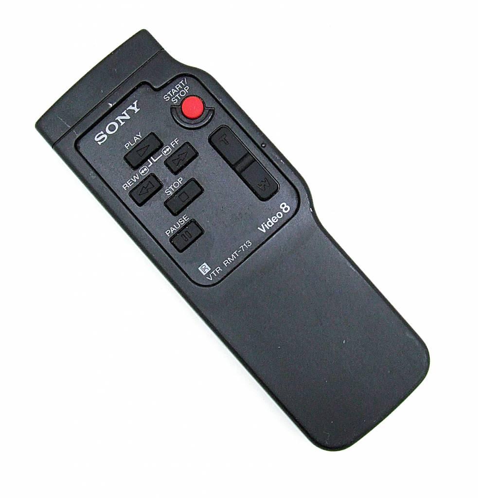 Sony Original Sony remote control VTR RMT-713 Video 8 Camcorder remote control