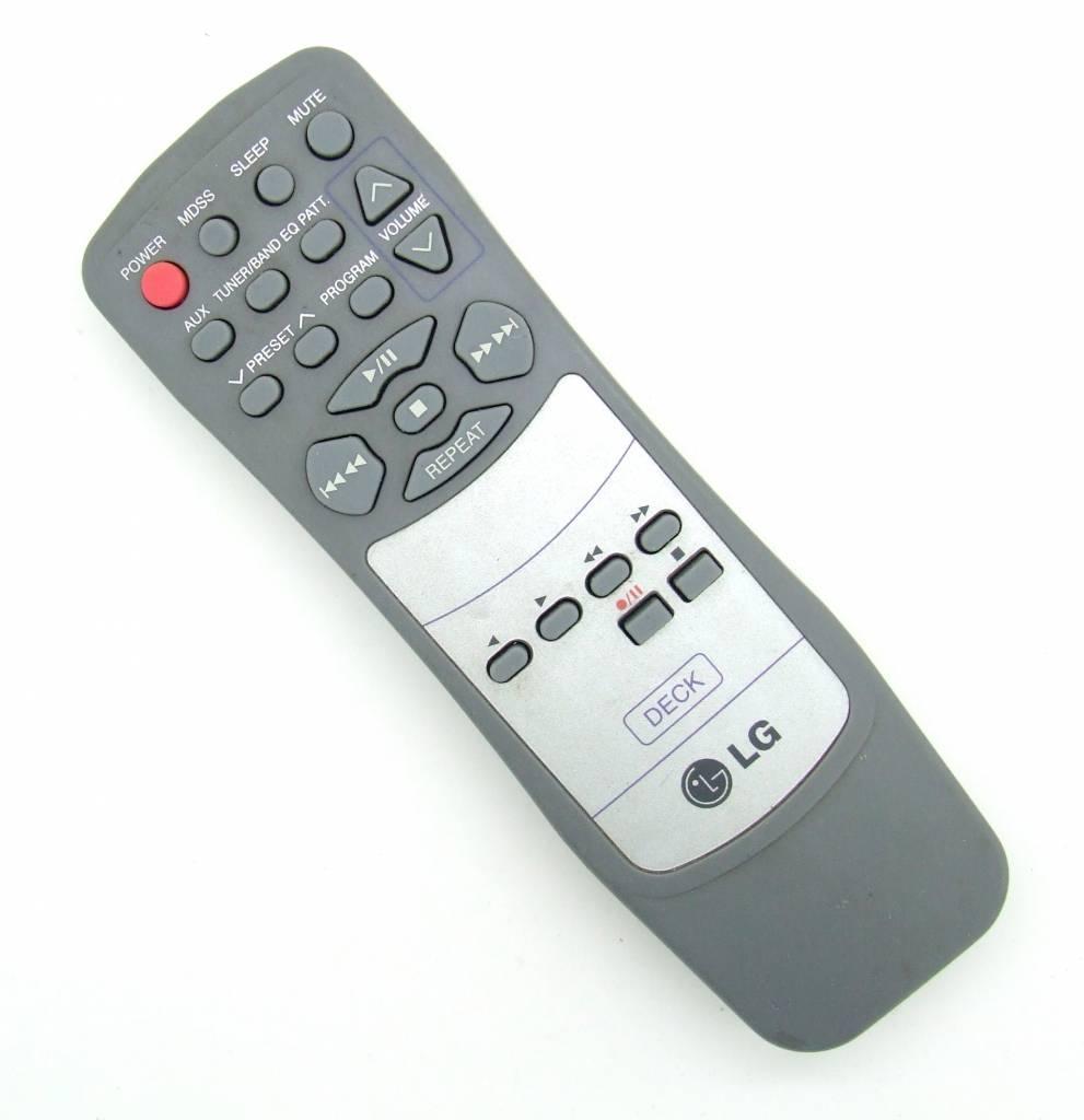 LG Original remote control LG for AudioSystem Deck