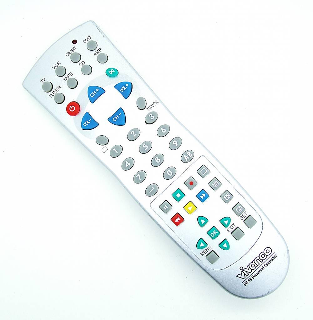 Original Vivanco Fernbedienung UR 89 Universal Controller Universal-Fernbedienung