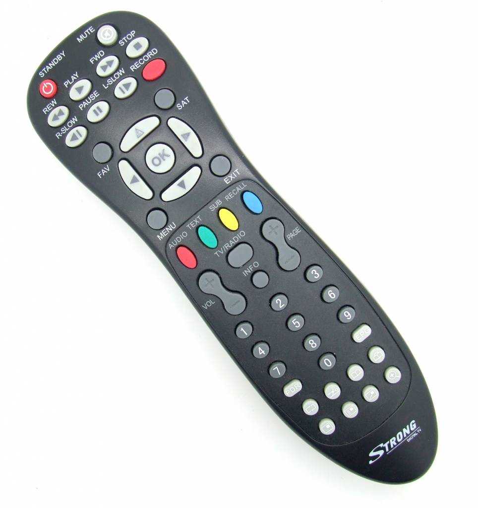 Strong Original Fernbedienung Strong Digital TV für Receiver Pilot