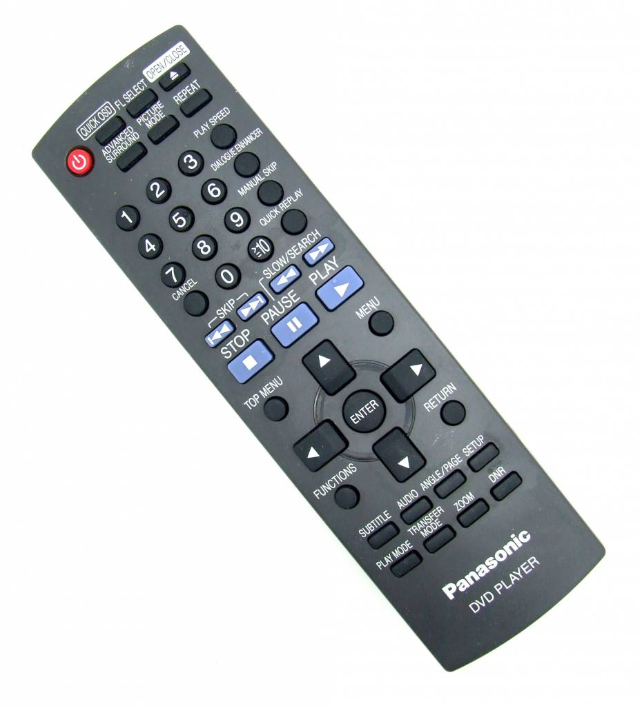Panasonic Original Fernbedienung Panasonic für DVD-Player DVD