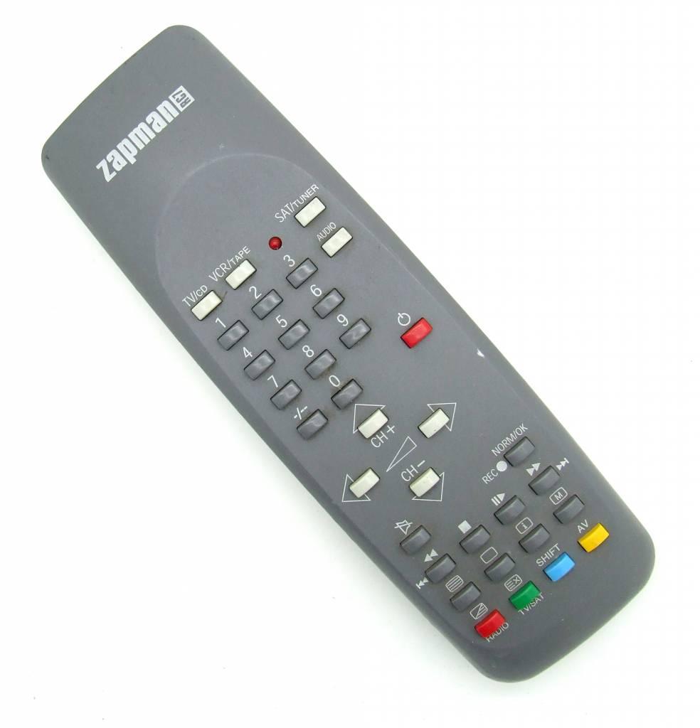 Original remote control Zapman RC7 Pilot
