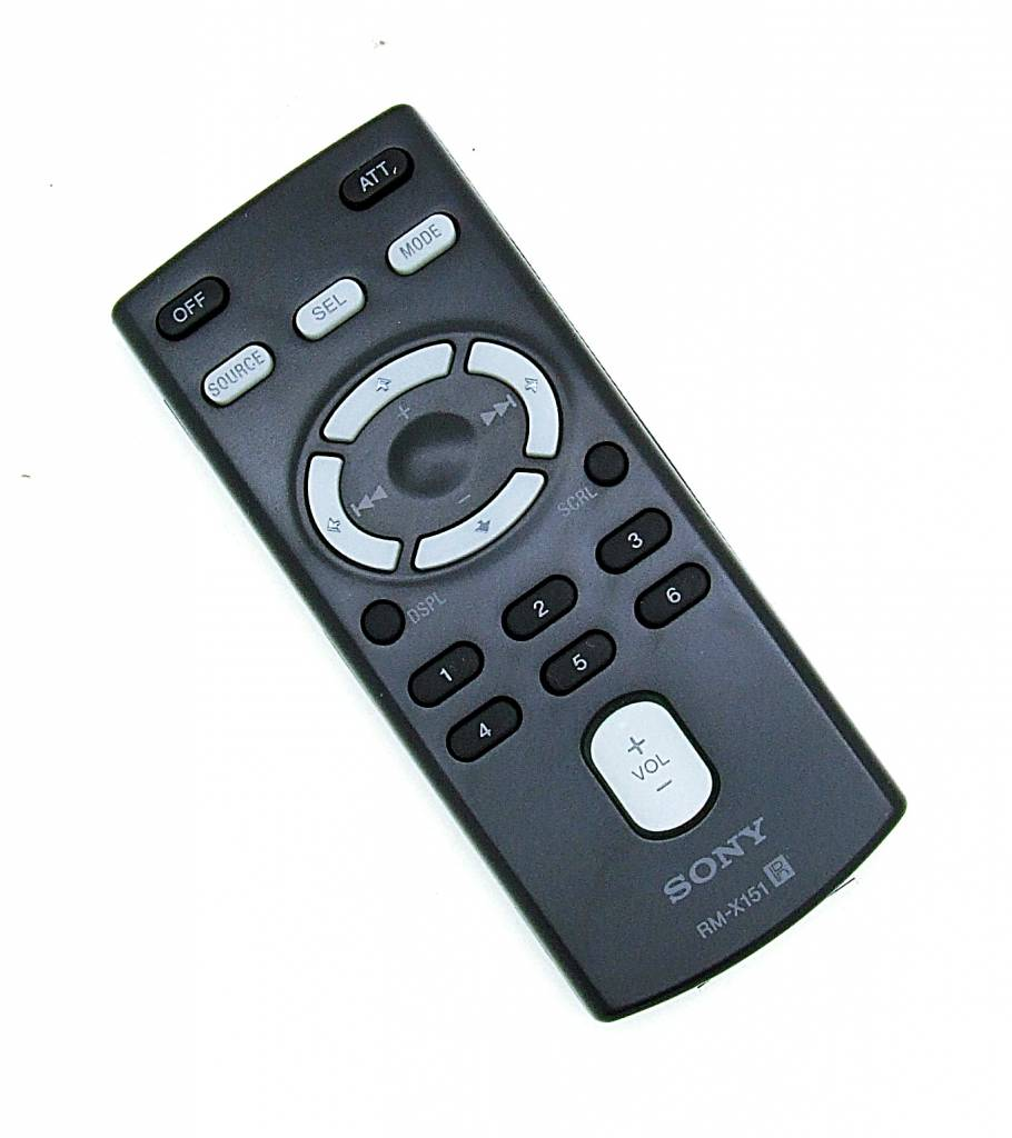 Sony Original Sony Fernbedienung RM-X151 für Autoradio CDX-F5700, CDX-GT400 NEU
