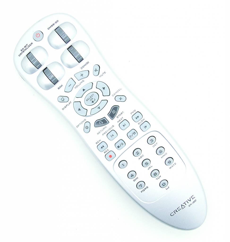 Original remote control Creative RM-1800 Audio TCWR800