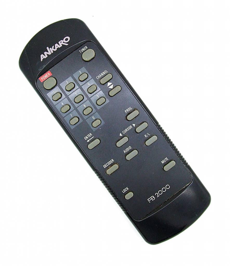 Original Ankaro Fernbedienung FB2000 für Satelliten Receiver