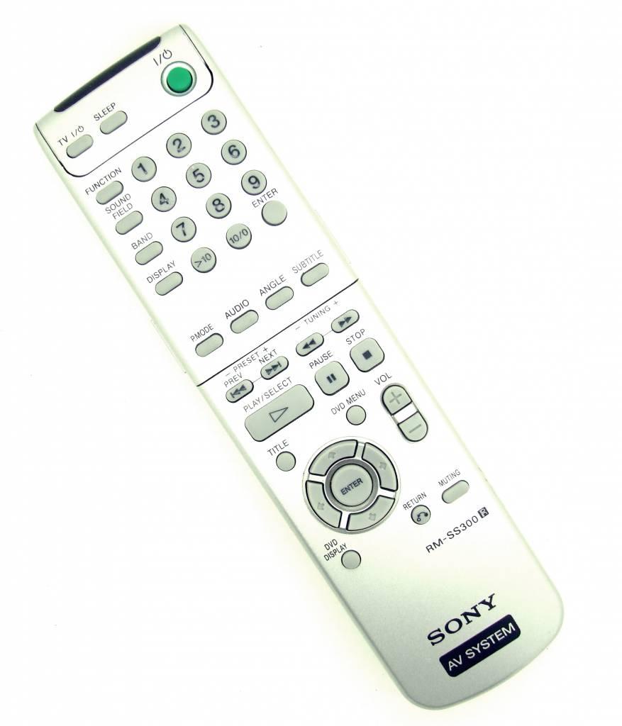 Sony Original Remote Control Rm Ss300 Av System