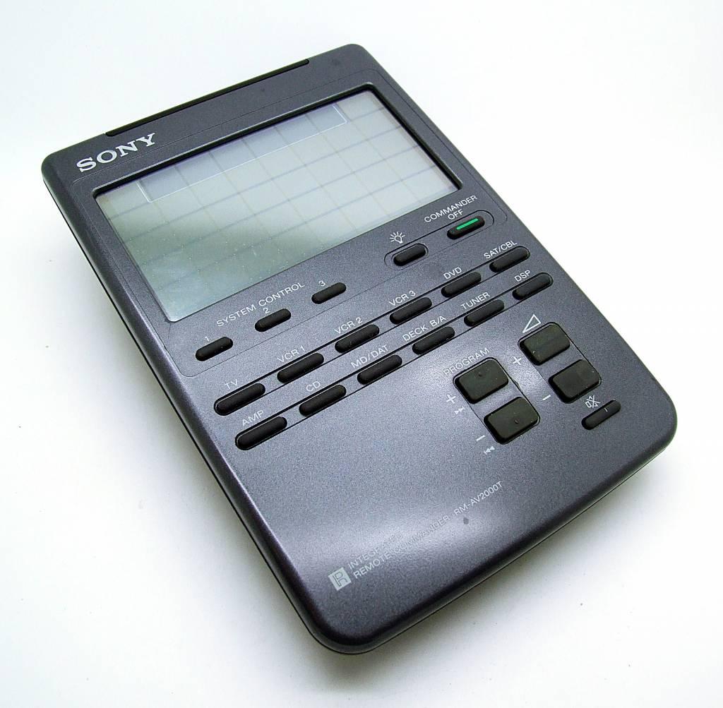 Sony Original Sony Fernbedienung RM-AV2000T Integrated remote commander