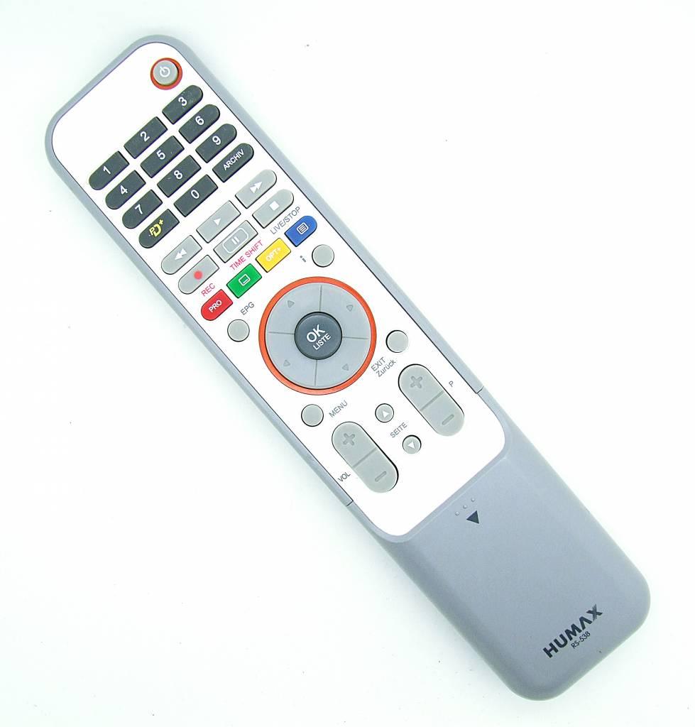 Humax Original Humx remote control RS-538 for iPDR 9800 SAT