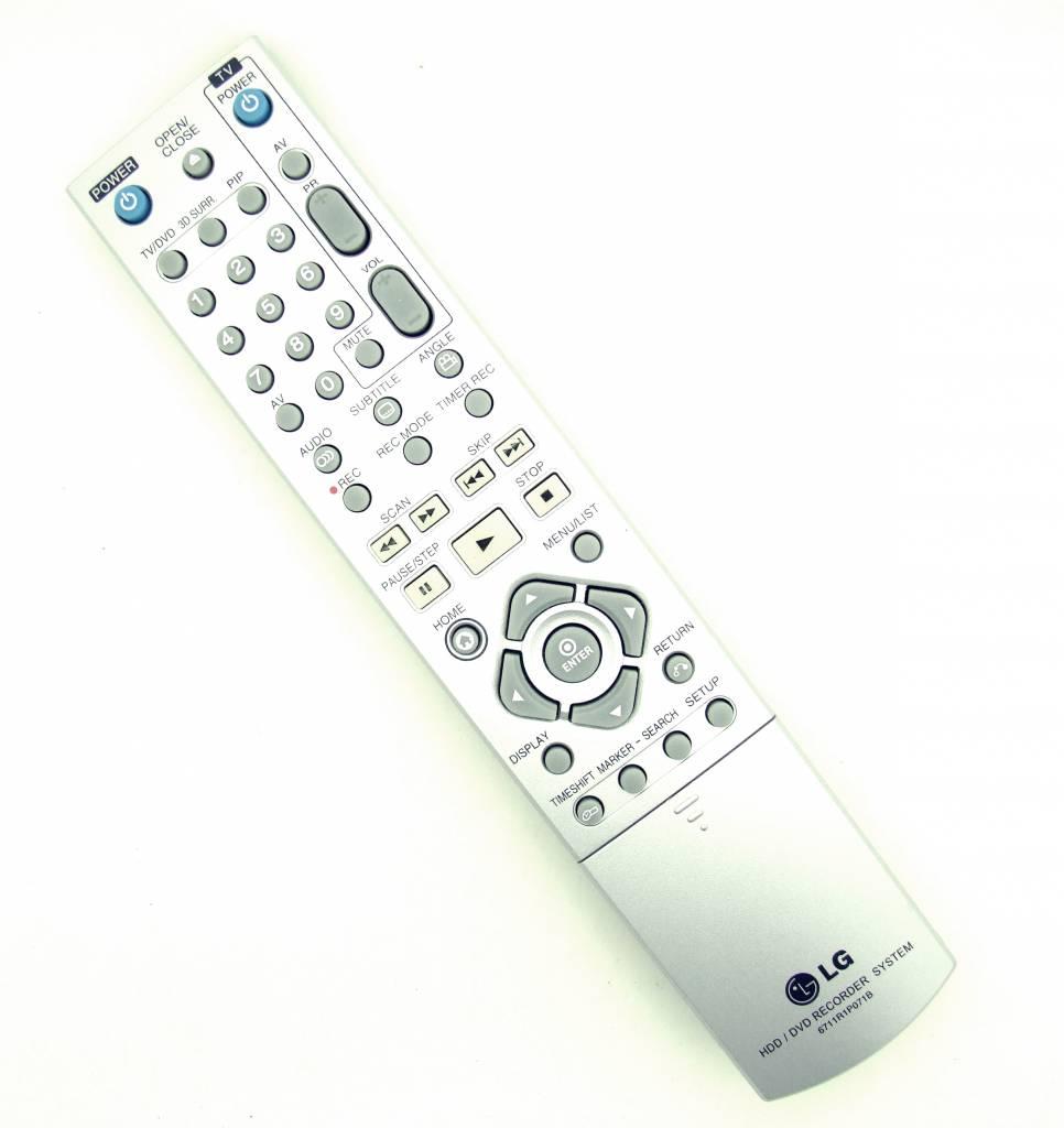 LG Original Fernbedienung LG 6711R1P071B HDD/DVD Recorder