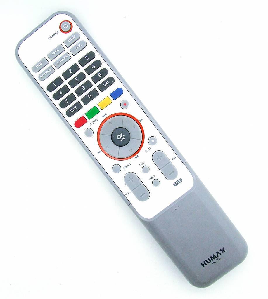 Humax Original Humax Fernbedienung NR-203 TV remote control