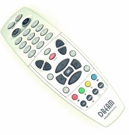 Original remote control for Dreambox DM500 Dream Multimedia silver