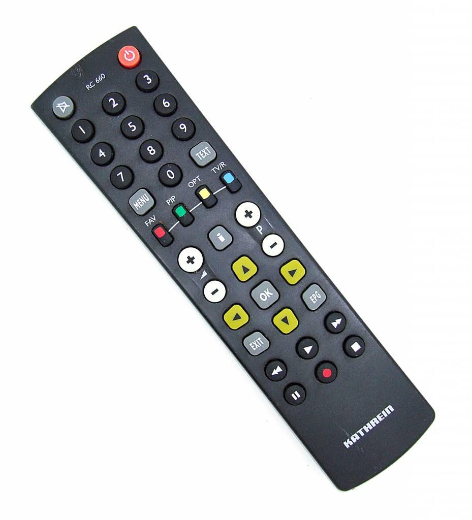 Kathrein Original Kathrein Fernbedienung RC 660 remote control