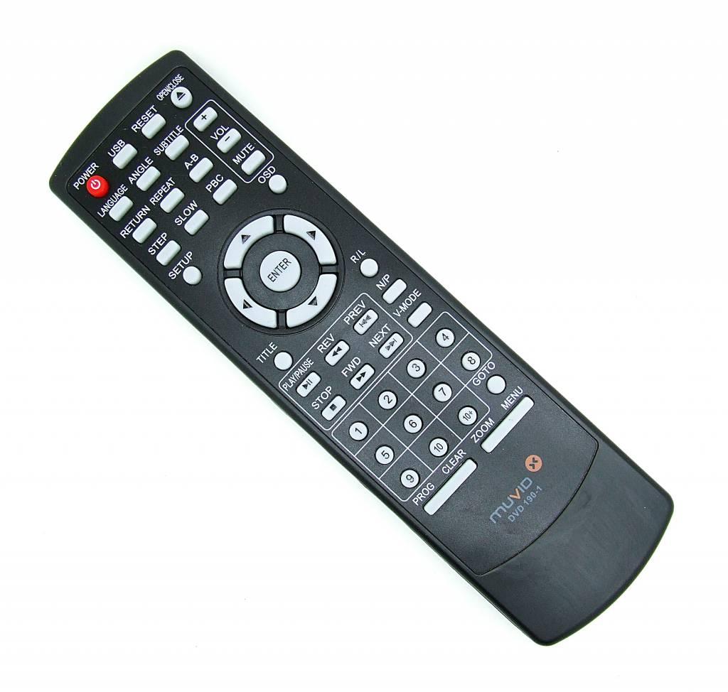 Original MUVID Fernbedienung DVD 190-1 remote control