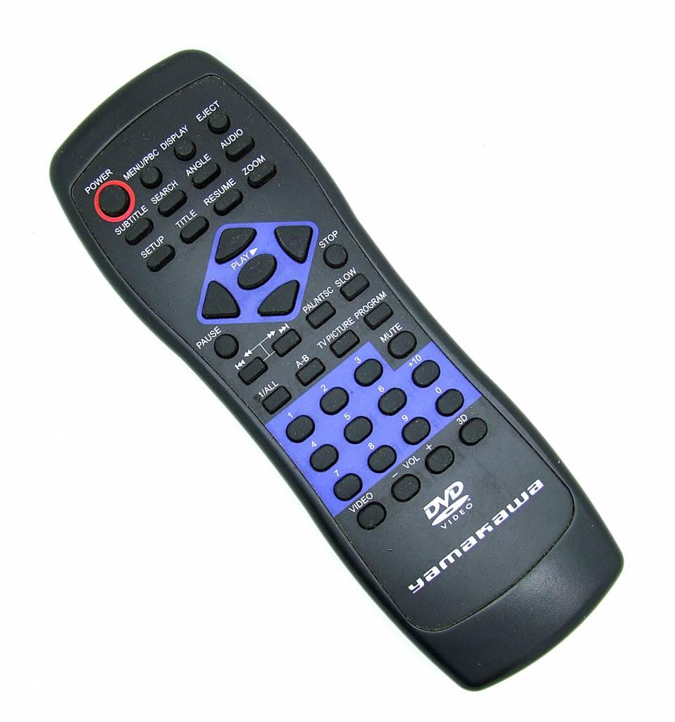 Original Yamakawa Fernbedienung DVD Video remote control