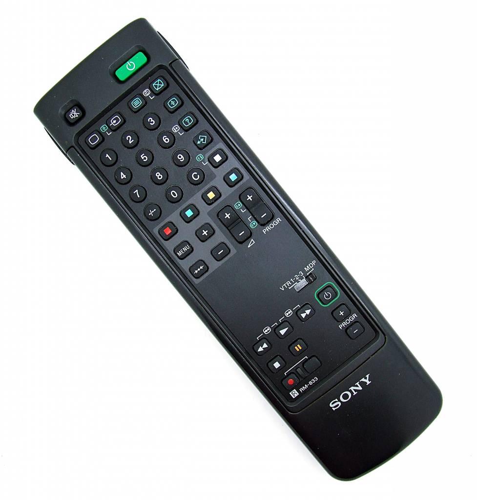 Sony Original Sony Fernbedienung RM-833 TV remote control