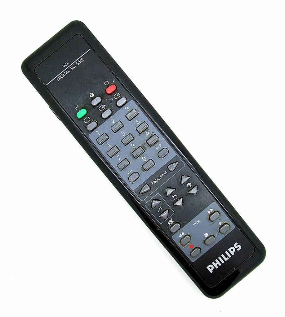 Philips Original Philips Fenbedienung Digital RC 5801 VCR remote control
