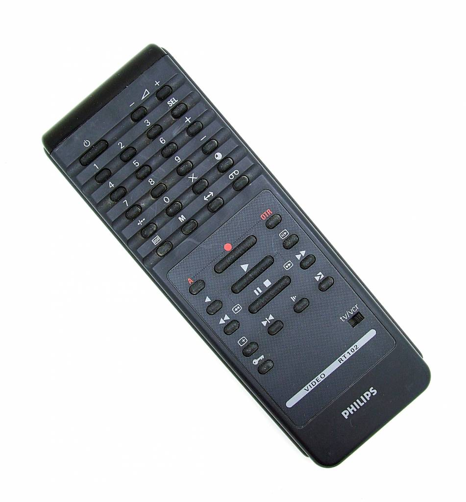 Philips Original Philips remote control Video RT102, RT 102