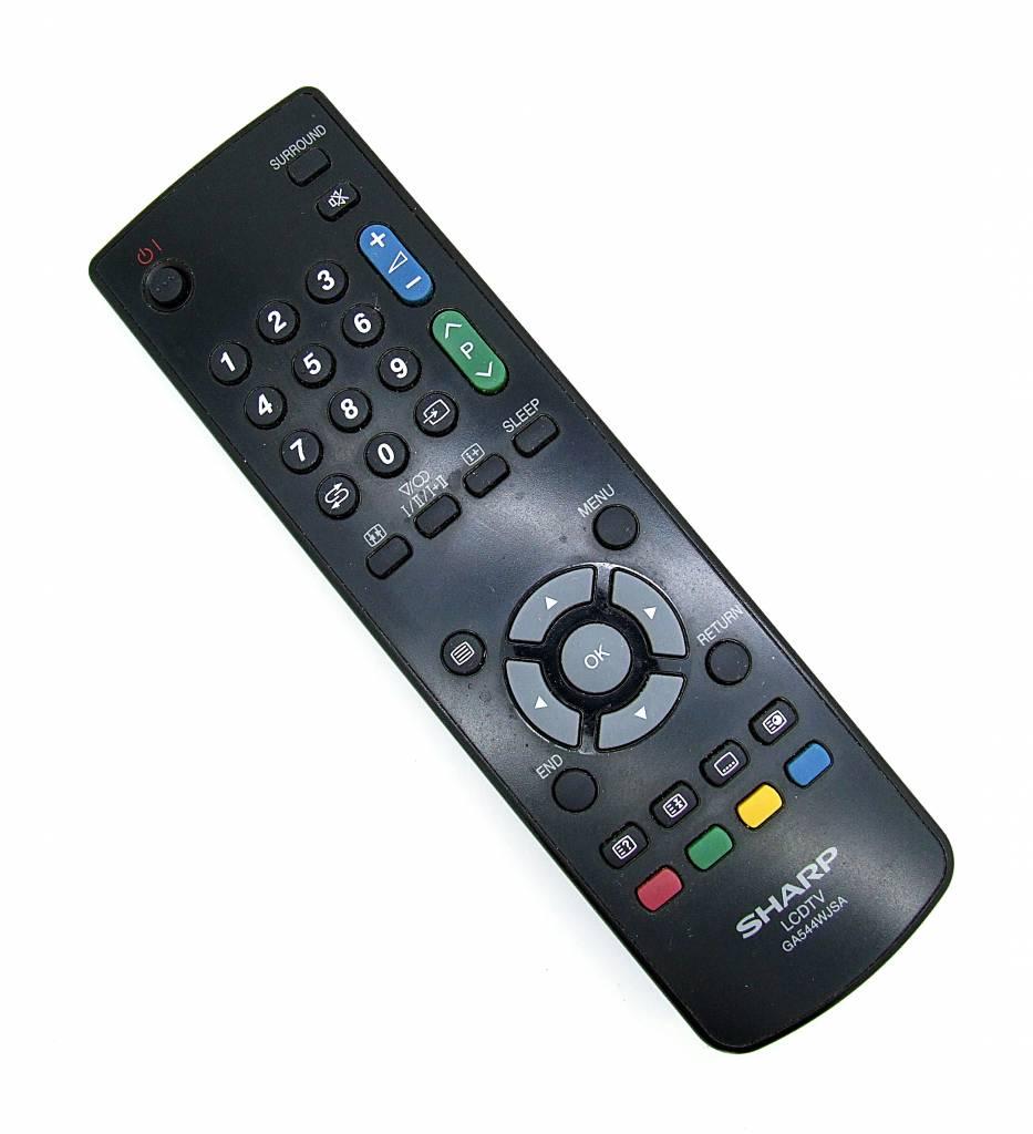Sharp Original Sharp Fernbedienung GA544WJSA LCDTV remote control