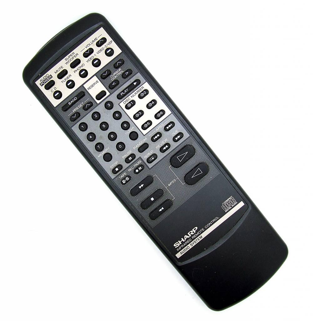 Sharp Original Sharp Fernbedienung CD-C900 RRMCG0275AFSA Infrared remote control Audio System